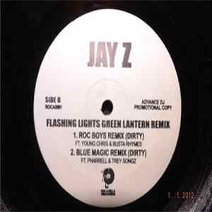 Jay-Z - Flashing Lights Green Lantern Remix FLAC album