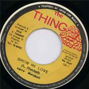 Larry Marshall - Show Me Love FLAC album
