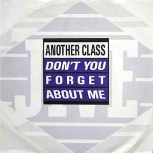 Another Class - Don't You Forget About Me FLAC album