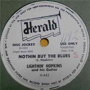 Lightnin' Hopkins And His Guitar - Nothin But The Blues / Early Morning Boogie FLAC album