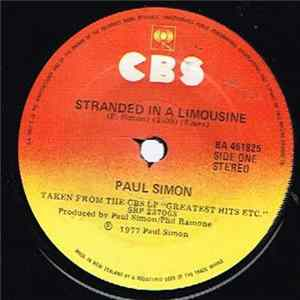 Paul Simon - Stranded In A Limousine FLAC album