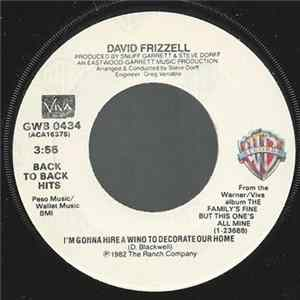 David Frizzell / David Frizzell & Shelly West - I'm Gonna Hire A Wino To Decorate Our Home / Another Honky-Tonk Night On Broadway FLAC album