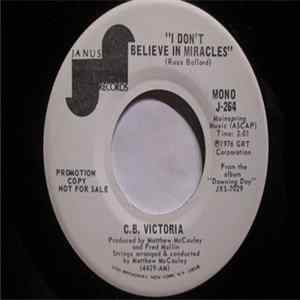 C.B. Victoria - I Don't Believe In Miracles FLAC album