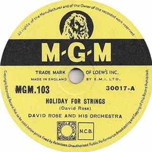 David Rose And His Orchestra - Holiday For Strings / Laura FLAC album