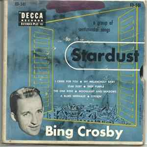 Bing Crosby - Star Dust FLAC album