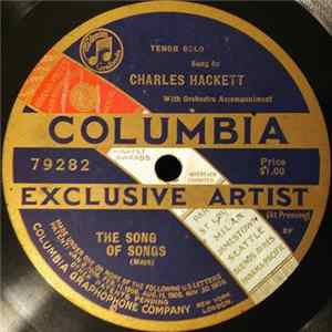 Charles Hackett - The Song Of Songs FLAC album