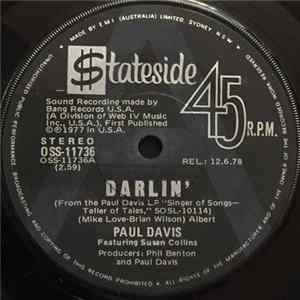 Paul Davis - Darlin' FLAC album
