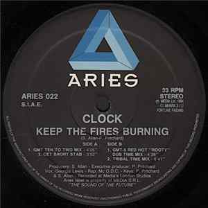 Clock - Keep The Fires Burning FLAC album