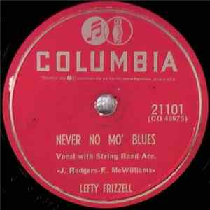 Lefty Frizzell - Never No Mo' Blues / Sleep, Baby Sleep FLAC album