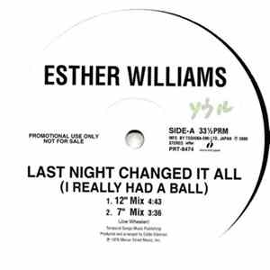 Esther Williams - Last Night Changed It All (I Really Had A Ball) FLAC album